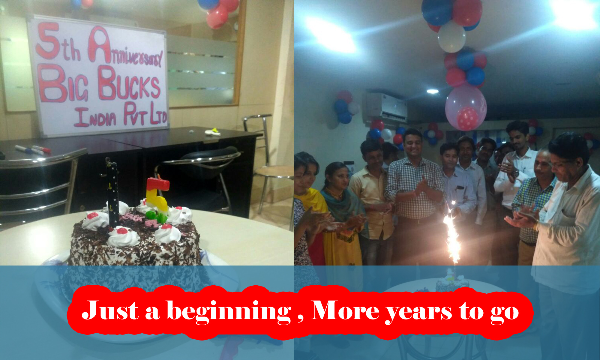 Big Bucks Pvt Ltd's 5th Birthday Celebration